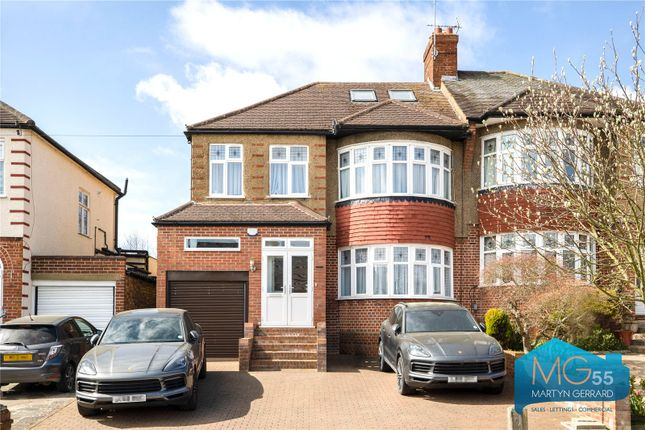 5 bed semi-detached house for sale in Oakwood Avenue, Southgate, London N14