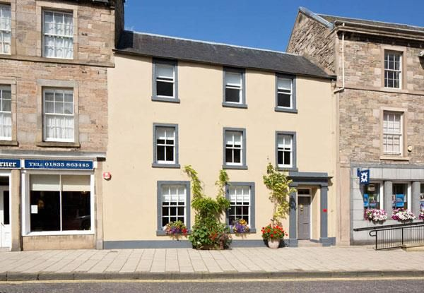 Thumbnail Terraced house for sale in Cabinetmakers House, High Street, Jedburgh