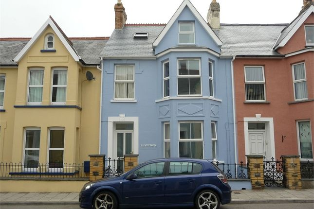 Thumbnail Town house for sale in Llwynon, Vergam Terrace, Fishguard, Pembrokeshire