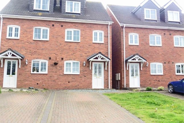Thumbnail Semi-detached house for sale in Off Rink Drive, Swadlincote, Swadlincote, Derbyshire