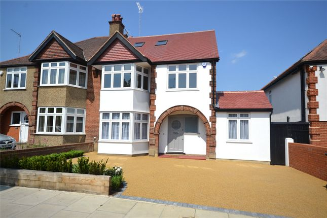 Thumbnail Property for sale in Creighton Avenue, East Finchley, London
