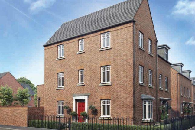 "Thumbnail Semi-detached house for sale in ""Durrington"" at Caledonia Road, Off Kiln Farm, Milton Keynes"