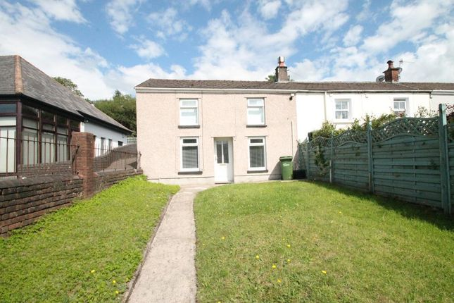 Thumbnail End terrace house for sale in High Street, Rhymney, Caerphilly Borough