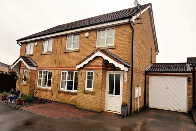3 bed semi-detached house for sale in Elton Way, Coalville