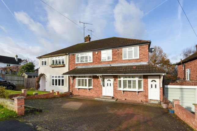 Thumbnail Semi-detached house to rent in Wayside Avenue, Bushey
