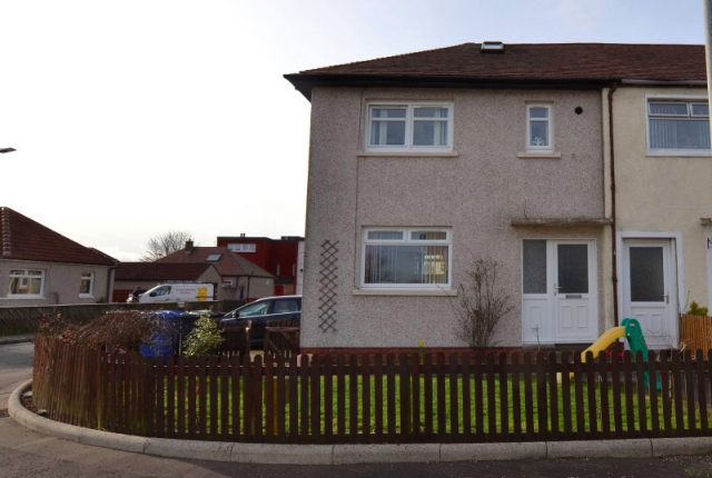 Thumbnail Terraced house to rent in Kirkhall Gardens, Ardrossan, North Ayrshire, 7Bx