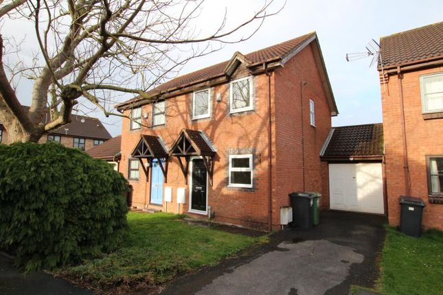 Thumbnail Semi-detached house to rent in Ormonds Close, Bradley Stoke, Bristol