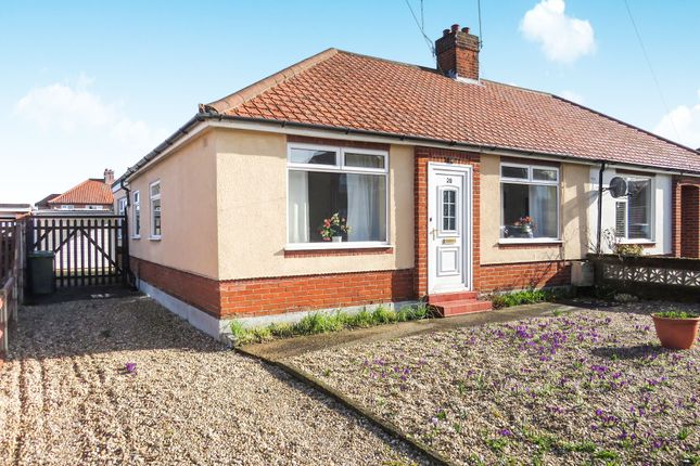 Thumbnail Semi-detached bungalow for sale in Allens Avenue, Sprowston, Norwich