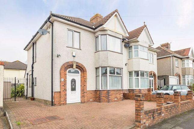 Thumbnail Semi-detached house for sale in Weston Crescent, Horfield, Bristol
