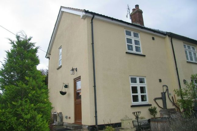 Thumbnail End terrace house to rent in Top Road, Shipham, Winscombe