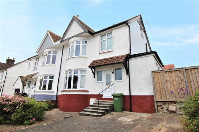 Thumbnail Flat for sale in Laura Avenue, Paignton