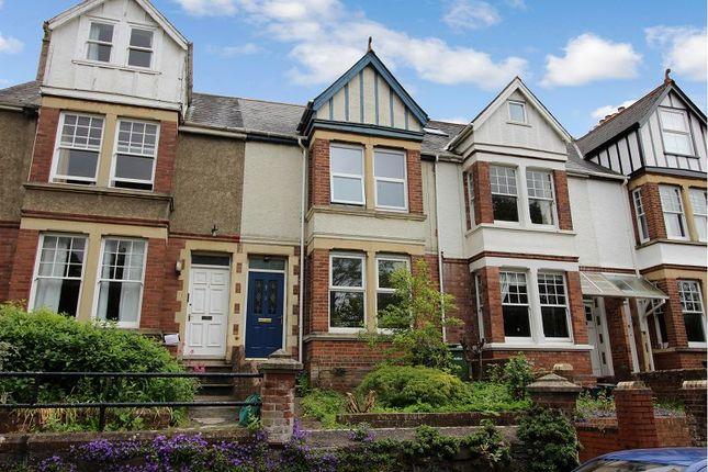 Thumbnail Terraced house for sale in Denmark Road, St. Leonards, Exeter