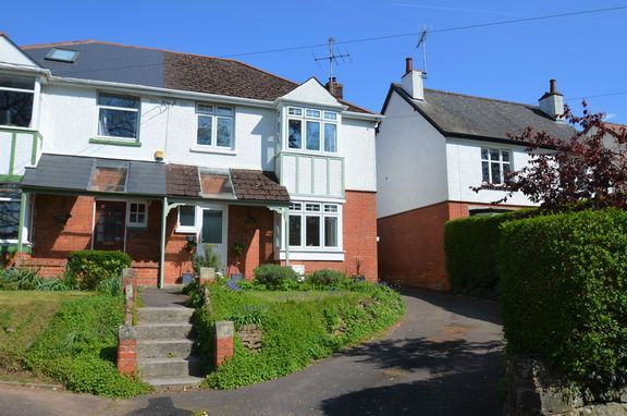 Thumbnail Semi-detached house for sale in Park Road, Tiverton