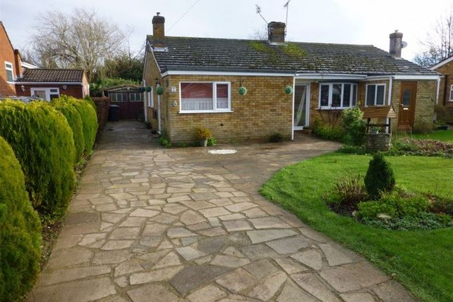 Thumbnail Bungalow to rent in Beswick Gardens, Rugby, Warks