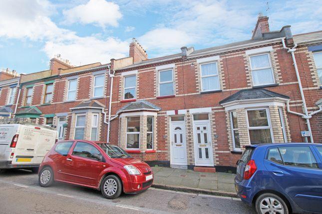 Thumbnail Terraced house to rent in Baker Street, Exeter