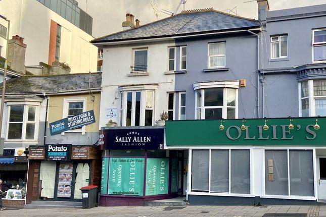 3 bed maisonette for sale in Torwood Street, Torquay TQ1
