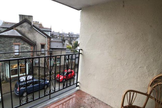 Balcony of Dunkley Court, Helvellyn Street, Keswick CA12
