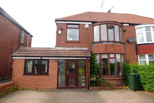 Thumbnail Semi-detached house to rent in Grange Road, Rotherham, South Yorkshire