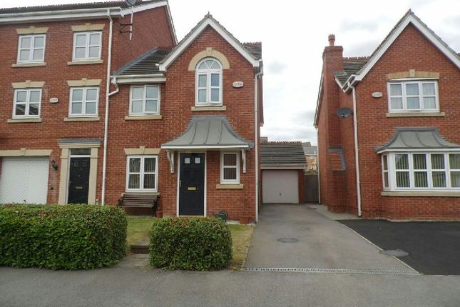 Thumbnail Semi-detached house to rent in Southside Road, Braunstone, Leicester