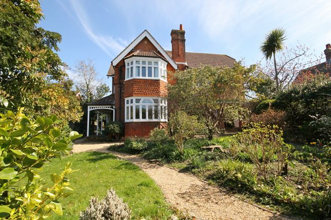 Thumbnail Detached house for sale in Colwell Road, Totland Bay