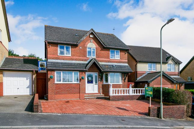 Thumbnail Detached house for sale in Llwyn Helig, Kenfig Hill, Bridgend
