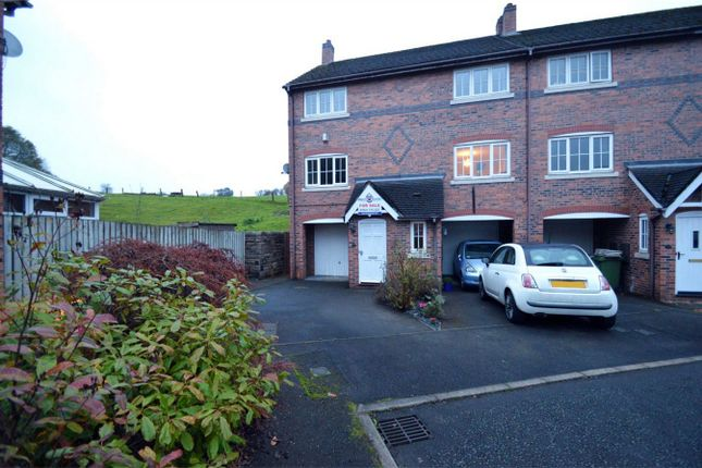 Thumbnail End terrace house for sale in Spinners Way, Bollington, Macclesfield, Cheshire