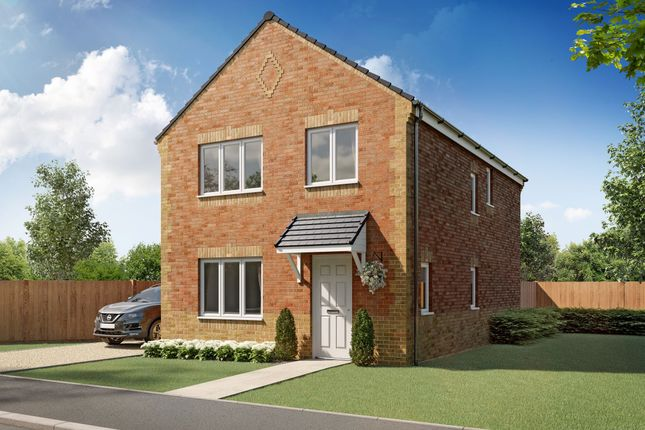 "4 bed detached house for sale in ""Longford"" at Woodhorn Park, Woodhorn Lane, Ashington NE63"