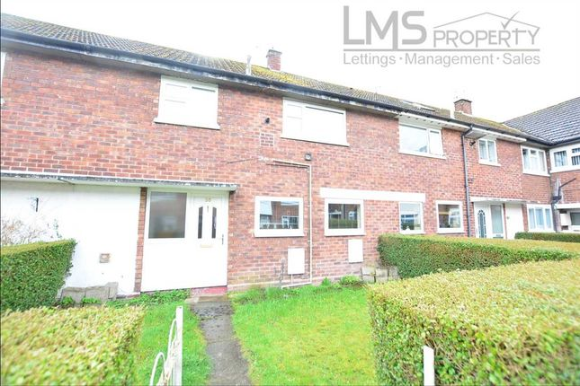Thumbnail Terraced house to rent in Tatton Close, Winsford