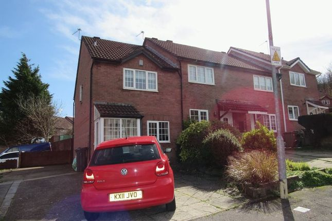 Thumbnail End terrace house for sale in Lauriston Park, Cardiff