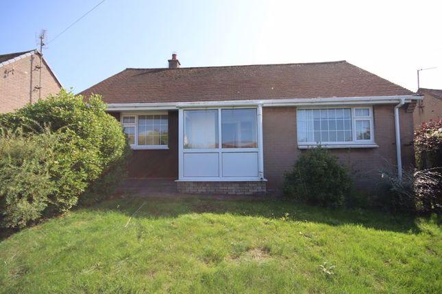 Thumbnail Detached bungalow for sale in Rockfield Drive, Llanrhos, Llandudno