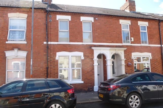 Thumbnail Terraced house to rent in Thirlestane Road, Northampton