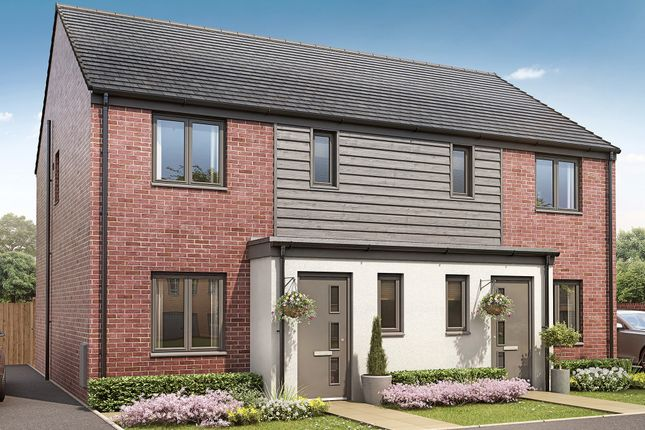 """Thumbnail End terrace house for sale in """"The Hanbury"""" at Pinhoe, Exeter"""