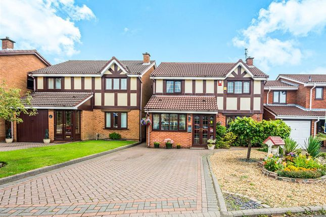 Thumbnail Detached house for sale in Lochalsh Grove, Coppice Farm, Willenhall