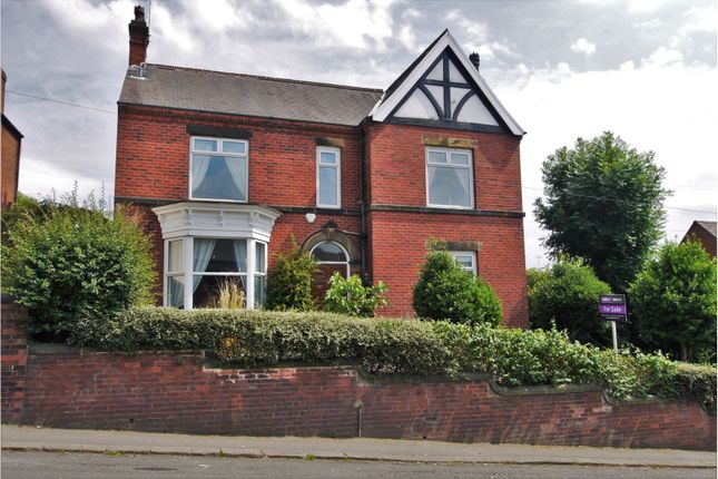 Thumbnail Detached house for sale in Whittington Hill, Old Whittington, Chesterfield