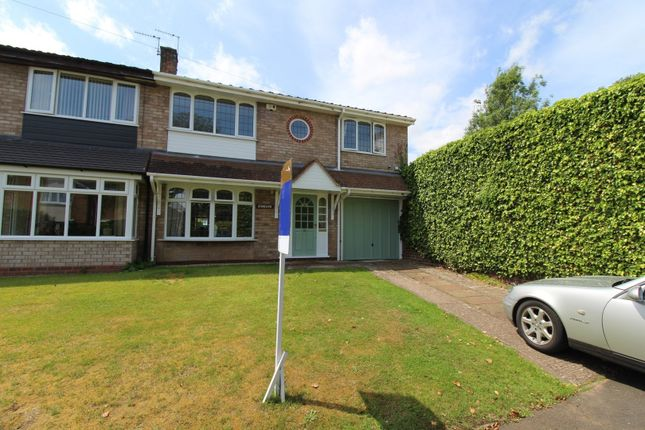 Thumbnail Semi-detached house for sale in Sandy Lane, Codsall, Wolverhampton