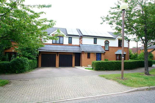 Thumbnail Detached house for sale in Boyce Crescent, Old Farm Park, Milton Keynes