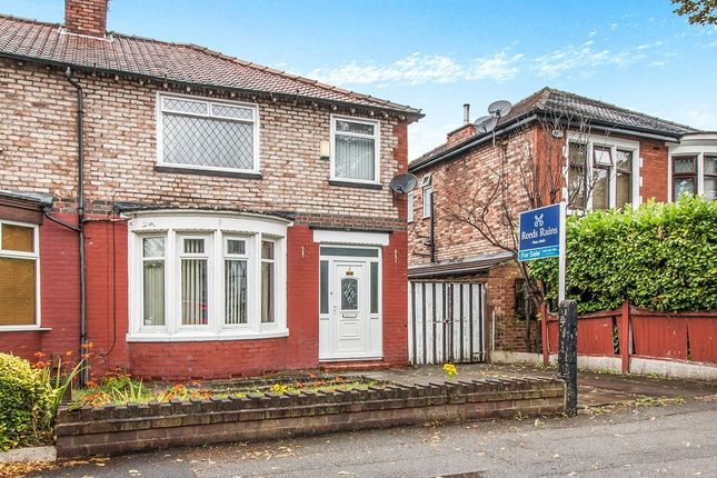 Thumbnail Semi-detached house for sale in Burnage Lane, Burnage, Manchester