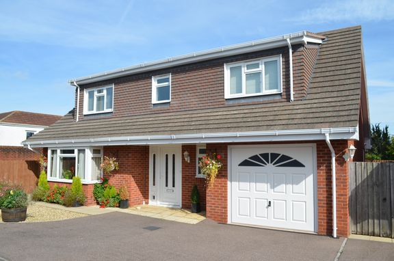 Thumbnail Detached house for sale in Roberts Close, Cullompton