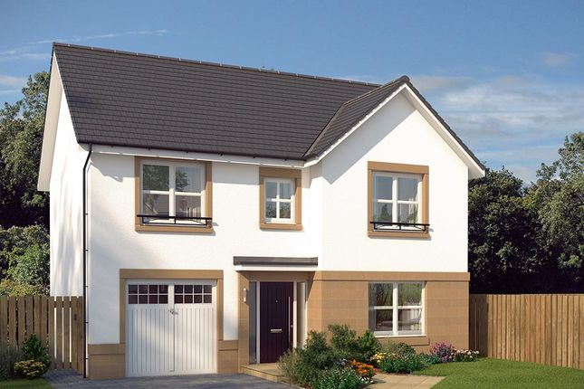 """Thumbnail Detached house for sale in """"The Norbury"""" at Castlehill Crescent, Ferniegair, Hamilton"""