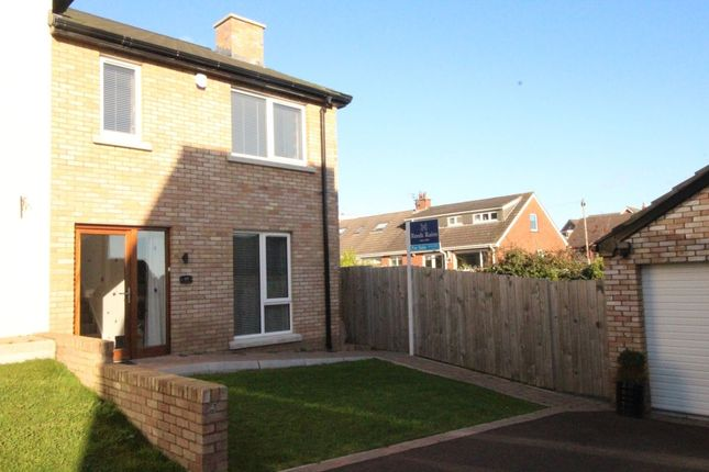 Thumbnail Semi-detached house for sale in Lakeview Manor, Comber, Newtownards