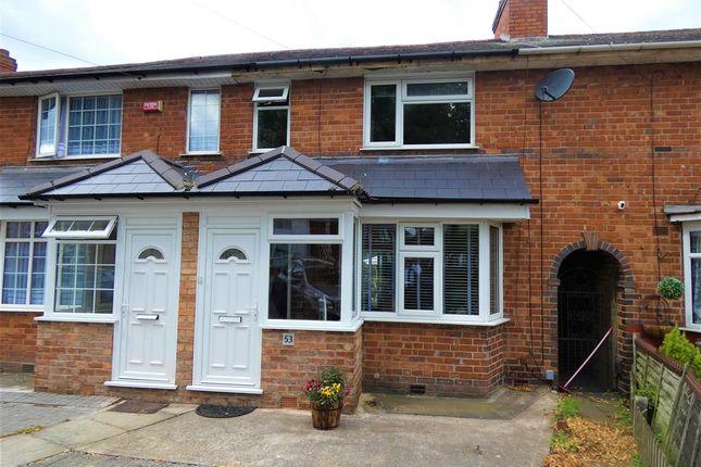 Thumbnail Terraced house for sale in Broadyates Road, Yardley, Birmingham