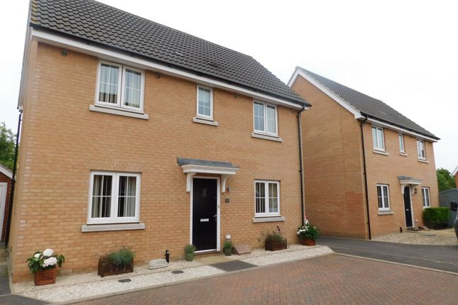 Detached house for sale in Yellowhammer Close, Stowmarket