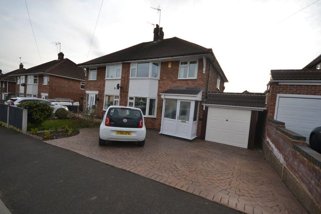 Thumbnail Semi-detached house to rent in Whitburn Road, Toton, Beeston, Nottingham