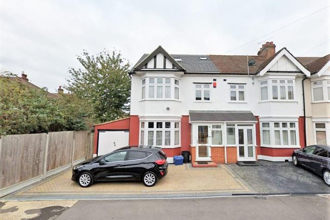 Thumbnail End terrace house to rent in Montpelier Gardens, Chadwell Heath, Romford