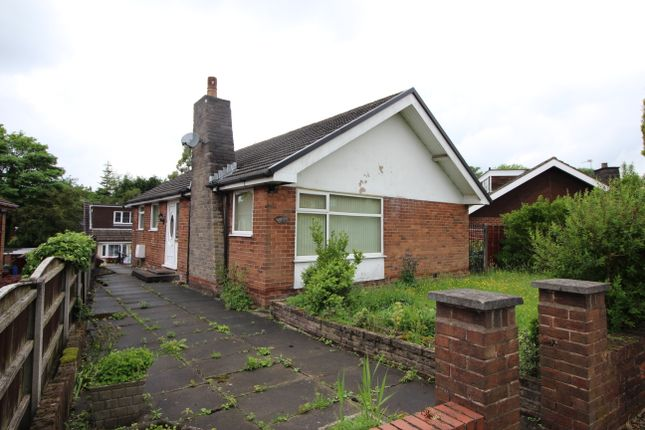 Thumbnail Detached bungalow to rent in Middleton Close, Radcliffe