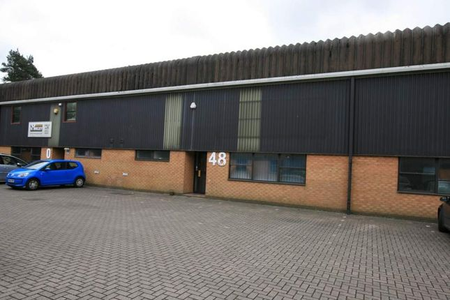 Thumbnail Light industrial to let in 48 Woolmer Trading Estate, Bordon