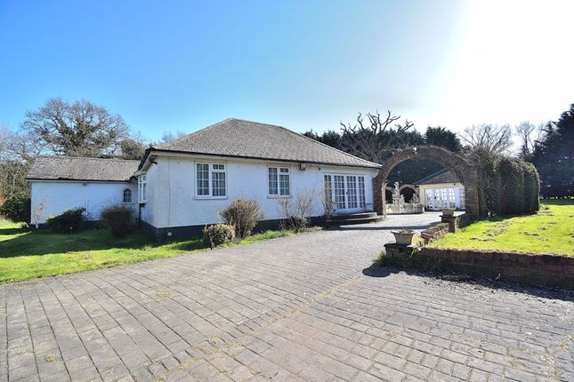 Thumbnail Detached bungalow for sale in Sedge Green, Roydon, Harlow
