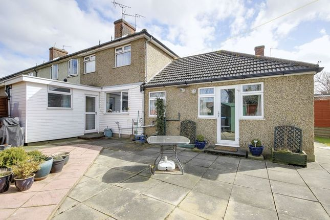 Thumbnail End terrace house for sale in Bishops Close, Enfield