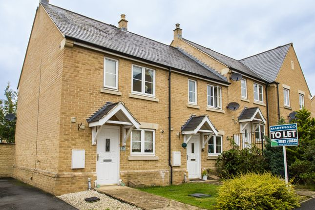 Thumbnail Terraced house to rent in Willow Drive, Carterton