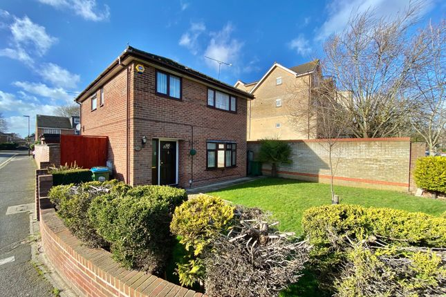 Thumbnail Detached house for sale in Charles Knott Gardens, Banister Park, Southampton